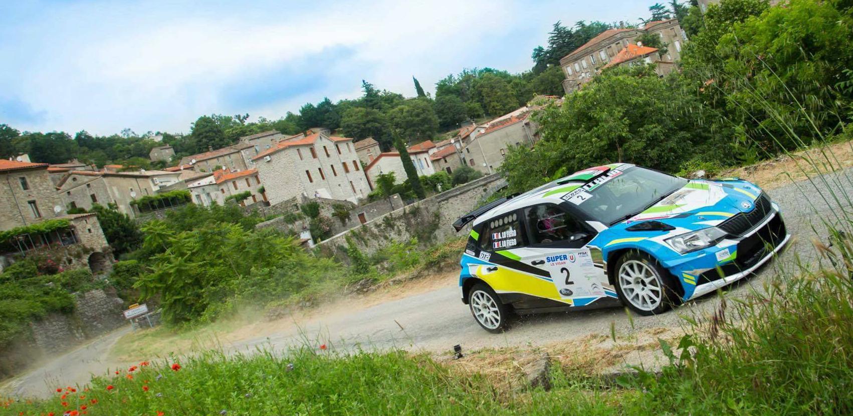 Victoire au Rallye National du Pays Viganais avec son frère Angelo